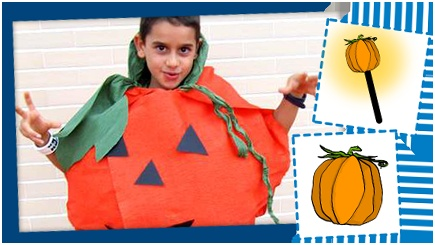 Halloween 2012 tutorial costume da zucca