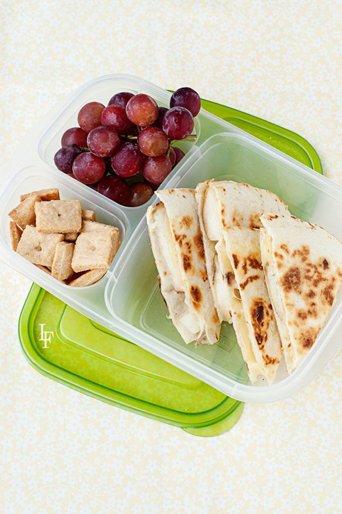 Lunchbox Quesadillas [RECIPE] - and 200 more lunch box recipes your kids will love. New book by @MOMables