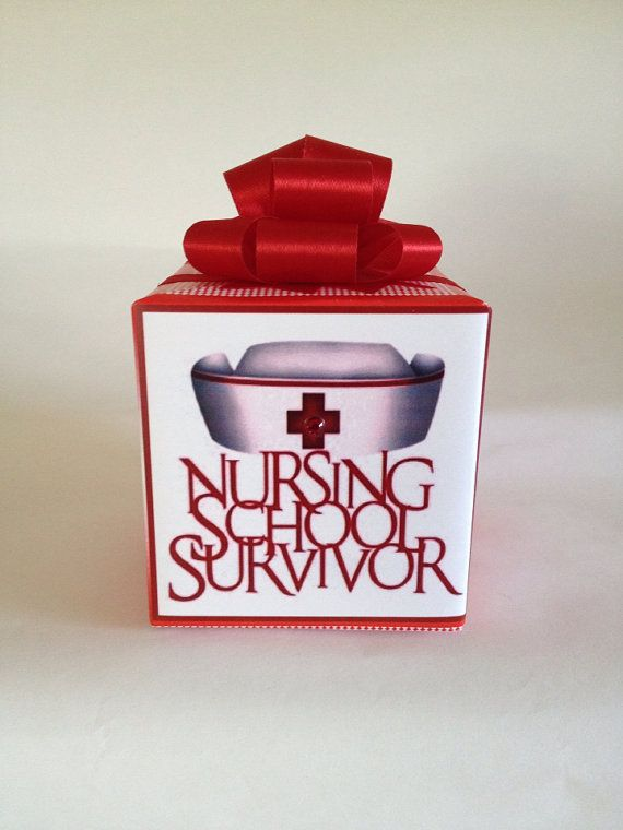 Nursing School Survivor Music box wrapped as a by JJMusicBoxes