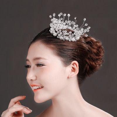 Европейский и американский оптовая полноценного выполнения ювелирных изделий волос кристалл невесты свадьба наследной принцессы королева тиара с H003