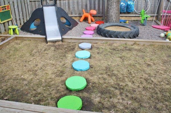 17 best images about outdoor playground sensory garden for Play yard plans