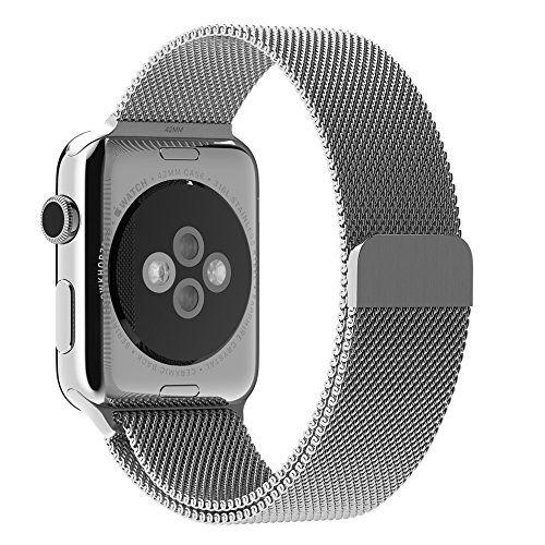 Sale Preis: Apple Watch Strap, mit Einzigartige Magnet-Verschluss, JETech® 38mm Replacement Wrist Band Uhrenarmband für Apple Watch 38mm Alle Modelle Keine Schnalle Benötigt. Gutscheine & Coole Geschenke für Frauen, Männer und Freunde. Kaufen bei http://coolegeschenkideen.de/apple-watch-strap-mit-einzigartige-magnet-verschluss-jetech-38mm-replacement-wrist-band-uhrenarmband-fuer-apple-watch-38mm-alle-modelle-keine-schnalle-benoetigt