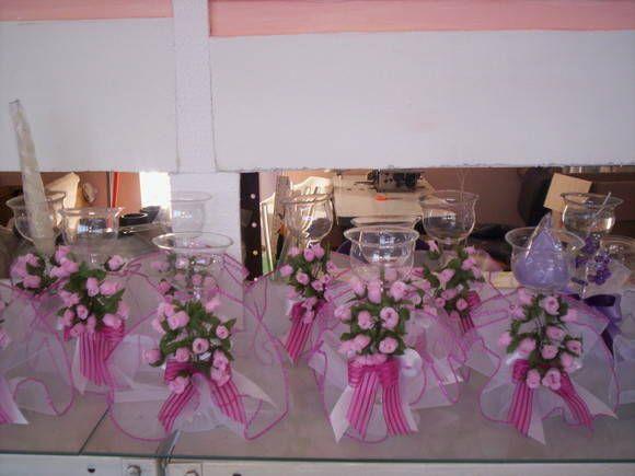 Velas Para 15 Anos Ideas Imagui Glass Vase Table Decorations Decor