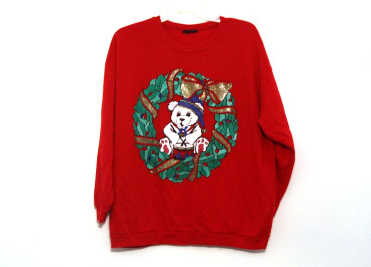 43 best Ugly Christmas Sweatshirts from the 80s images on ...
