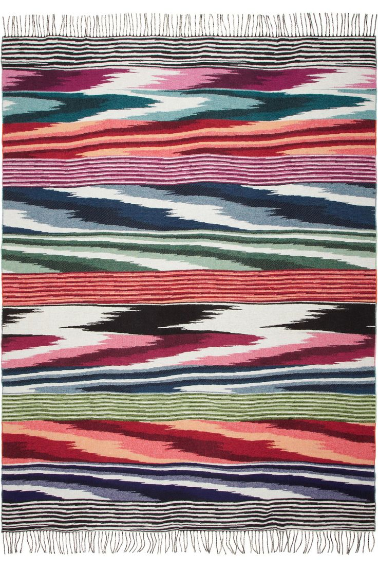 Missoni Home|Oberon wool and cashmere-blend throw