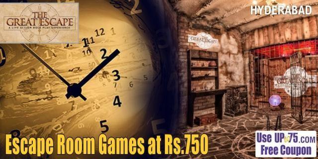 The Great Escape Room Hyderabad Discounts Escape Room Game The Great Escape Escape Room