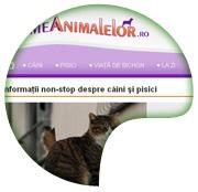 www.lumeanimalelor.ro - Informaţii non-stop despre câini şi pisici