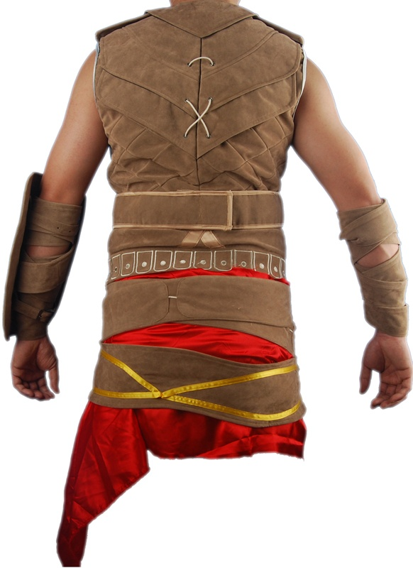 Prince of Persia The forgotten Sands cosplay costume armor outfit fancy video game halloween costume. Medieval knight armor jacket. Designed by Oasis Costume.