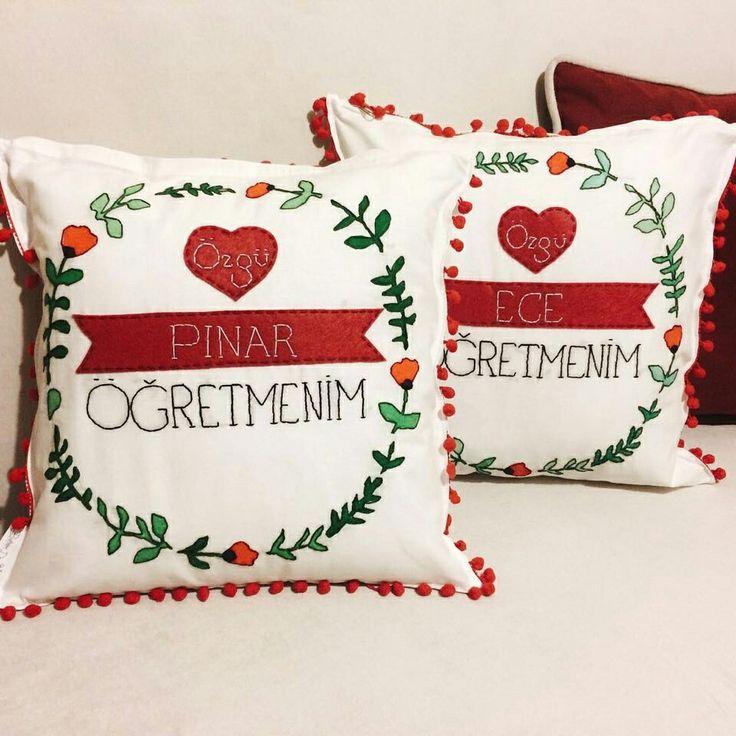 """""""Bukrem Design"""" Kişiye Özel Tasarım Yastıkları"""