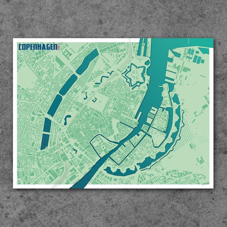 Personalised Copenhagen Map