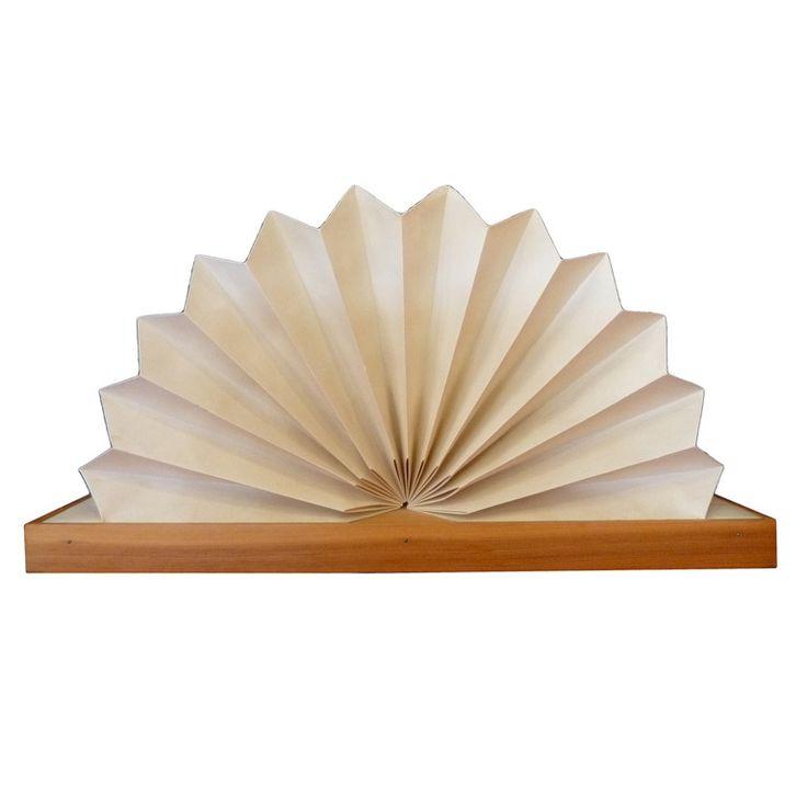 1970's Fan Table Lamp by Noah Slutsky