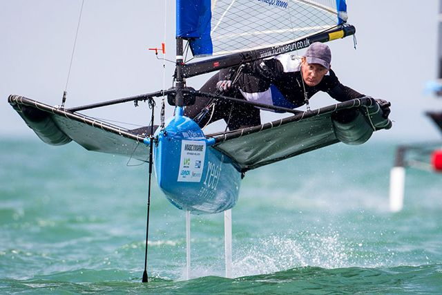 Stunning Sailing Photos: Moth worlds photo Tom Gruitt