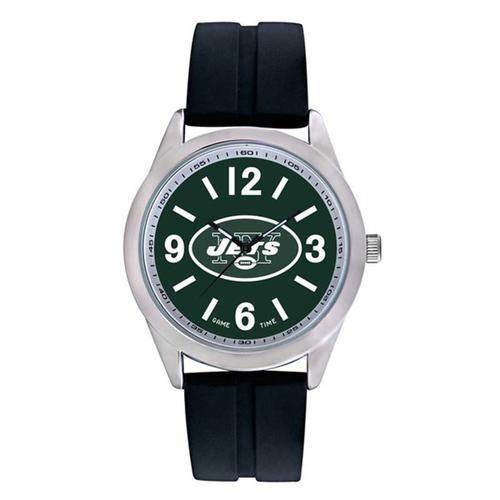 "New York Jets NFL Mens Varsity Series"" Quartz Analog Watch"""