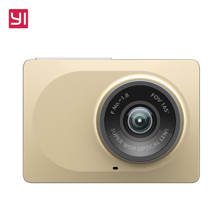 Xiaomi YI brand International Edition Smart Car DVR WiFi Dash Camera 165 Degree ADAS 1080P 60fps 2.7Inch Car Camera