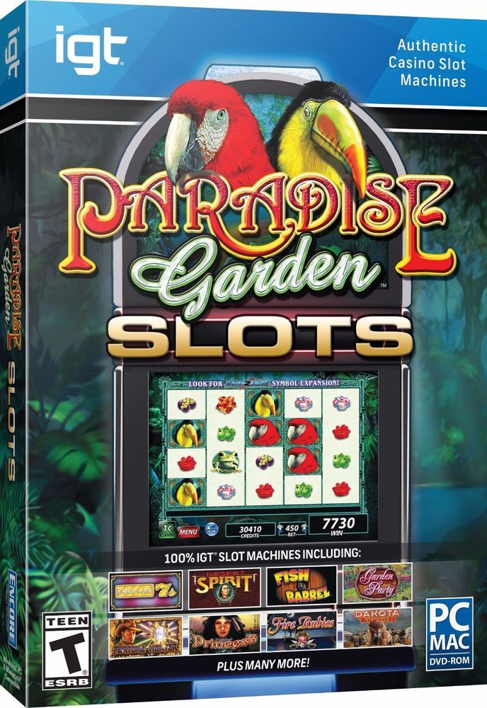 IGT SLOTS PARADISE GARDEN (PC 2014) #videogames #computergames