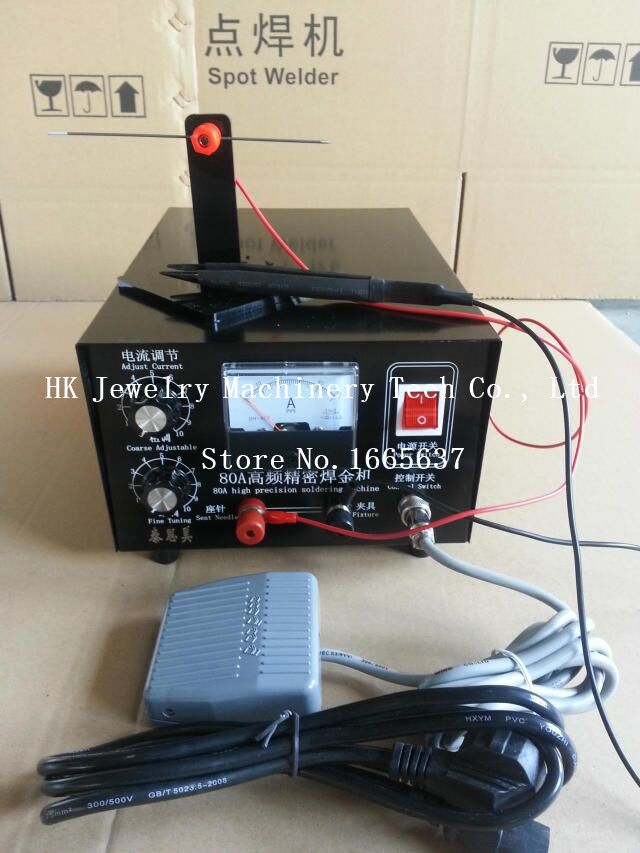 80A High Precision Soldering Machine Jewelry Making Tools Metal Spot Welder for Sale