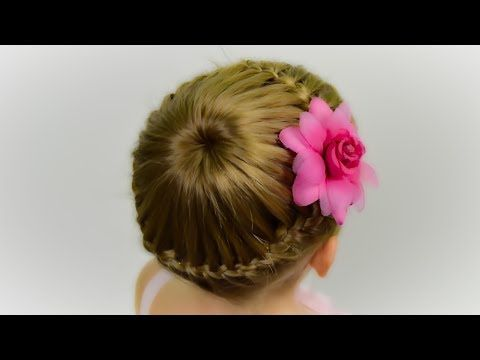 How to make a quick hairtyle with hair ties for little girl. The sixths in a series of quick and simple hairstyles for girls . ? What is needed: → 8 small co...