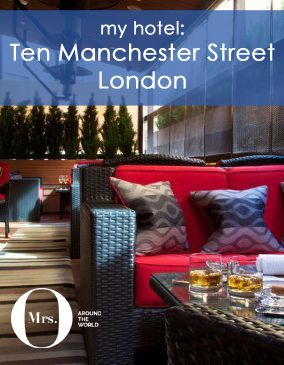 A night in London is always fun. As I don't live far away, I always like coming into town and try new hotels. Ten Manchester Street was, without a doubt, a great find. A little boutique hotel located in Marylebone, isn't far from Oxford Street and all its shopping attractions.