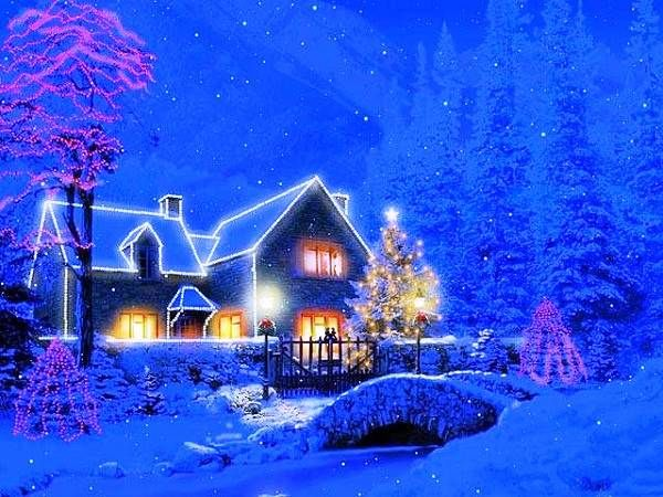 103 best images about christmas wallpaper on pinterest - Anime merry christmas wallpaper ...