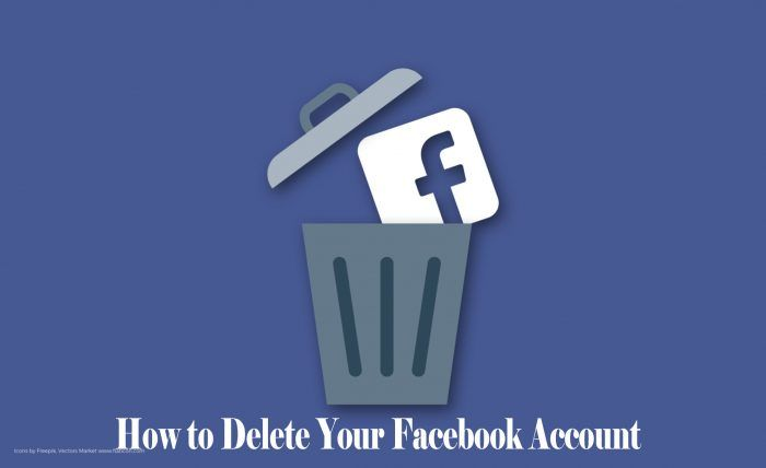 How To Delete Your Facebook Account Facebook Account Trendebook Delete Facebook Account Facebook Accounting