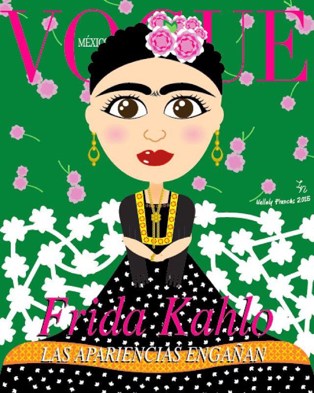 #Frida Kahlo #MiFrida #Vogue