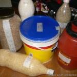 Που μπορούμε να αποθηκεύσουμε ρύζι, φακές, φασόλια κλπ
