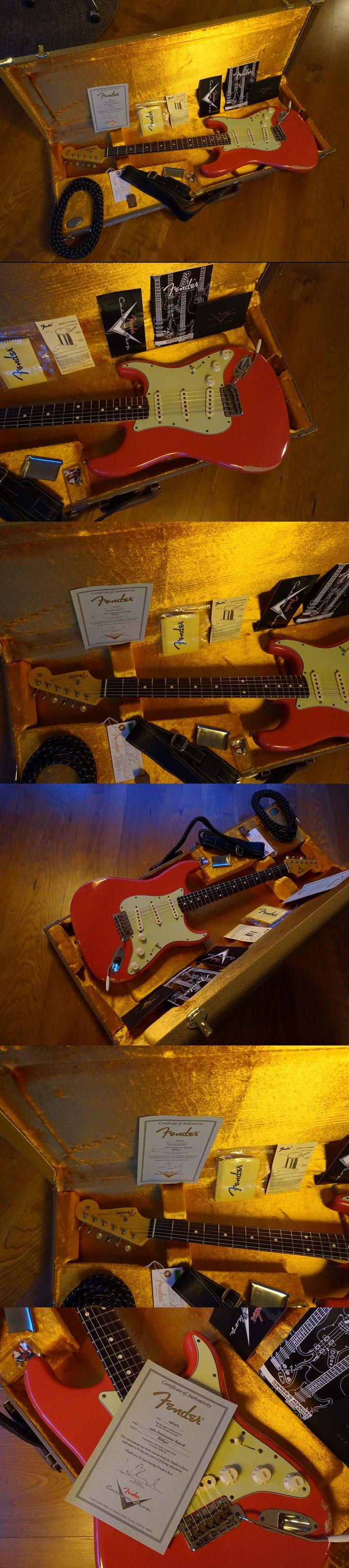 2012 Fender Custom Shop 1960 Relic Stratocaster, Fiesta Red (incl. Abigail Ybarra Pickups)