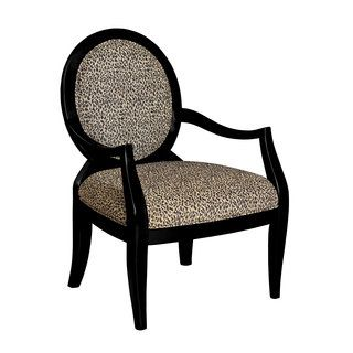 Shop for Powell Zinnia Leopard Oval Back Accent Chair. Get free shipping at Overstock.com - Your Online Furniture Outlet Store! Get 5% in rewards with Club O!