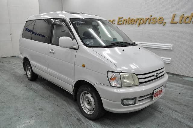 Japanese vehicles to the world: 1998 Toyota Townace Noah for Tanzania to Dar es sa...