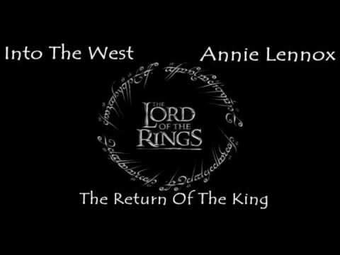 2003 - «Into the West» (Music & Lyrics by FRAN WALSH, HOWARD SHORE & ANNIE LENNOX) de la película El señor de los anillos: el retorno del rey (The Lord Of The Rings: The Return Of The King) . Performed by Annie Lennox
