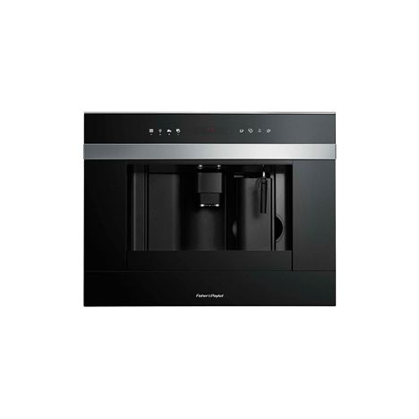 Fisher & Paykel 60cm Built-in Coffee Maker (EB60DSXB1). Like having a barista in your kitchen, the built-in Coffee Maker is designed to make coffee just the way you like it. Offering adjustable coffee strength and temperature, multiple coffee cup sizes and 15-bar pressure at the touch of a button, it gives you the perfect way to start each day. Shop online https://www.fisherpaykel.com/uk/kitchen/cooking-appliances/companion-products/60cm-built-in-coffee-maker.EB60DSXB1.html