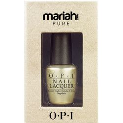 OPI Nail Lacquer Mariah Carey Pure 18K White Gold & Silver Top Coat