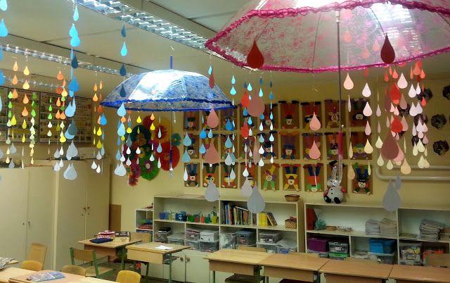 anett's : Hogyan díszítsük fel az osztályt ősszel vagy tavasszal?