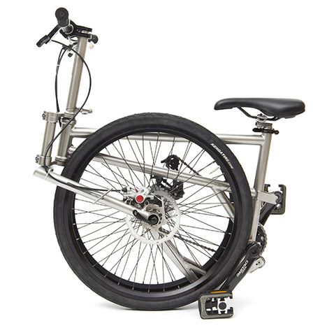 A Canadian designer claims to have created the world's smallest folding bike .