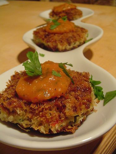 eggplant croquette. | Favorite Recipes | Pinterest