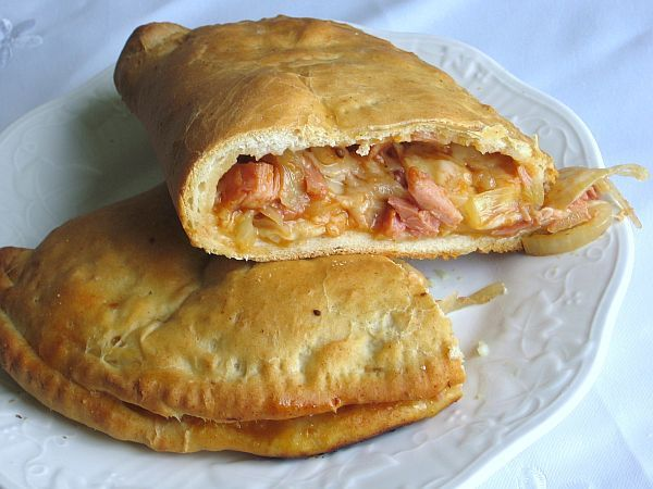 This smoked chicken calzone recipe is made with whey which is the liquid byproduct of cheeemaking. Whole milk can be used in place of the whey.