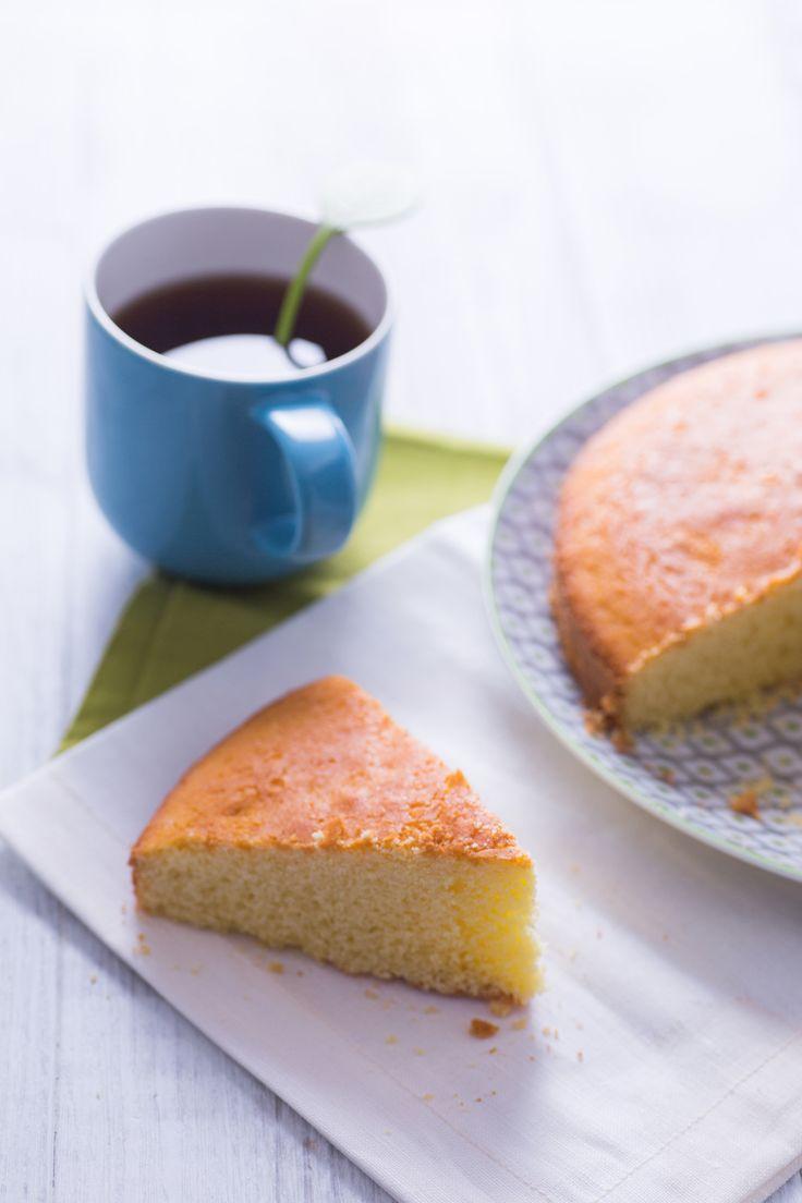 Torta con farina di riso: golosa e rigorosamente gluten free. [Rice flour cake]