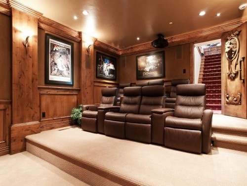 Awesome HomeTheater Room By Utah Luxury Home Builder Cameo Homes Inc Check Out The