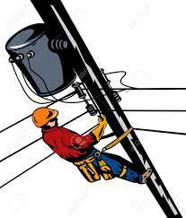 Resultado de imagen para imagenes animadas de electricistas trabajando