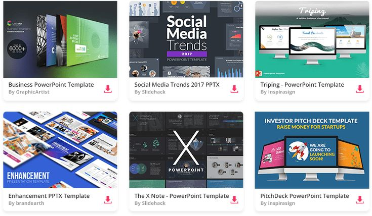The 40 Best Best Free Powerpoint Templates For 2018 Images On Pinterest