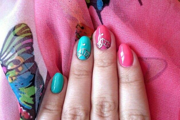 Ногти литье фольга #ногти #shimonnails