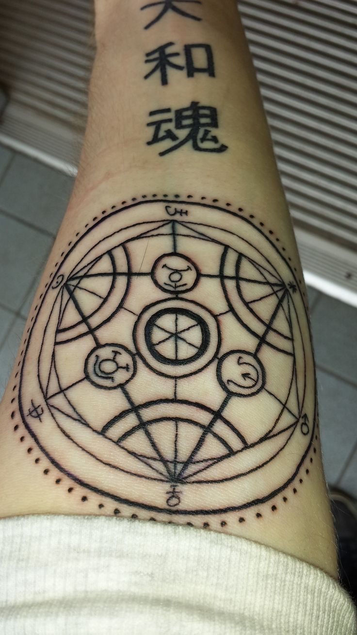 Transmutation Circle Tattoo: 449 Best Images About Tattoo On Pinterest