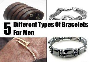 5 Different Types Of Bracelets For Men