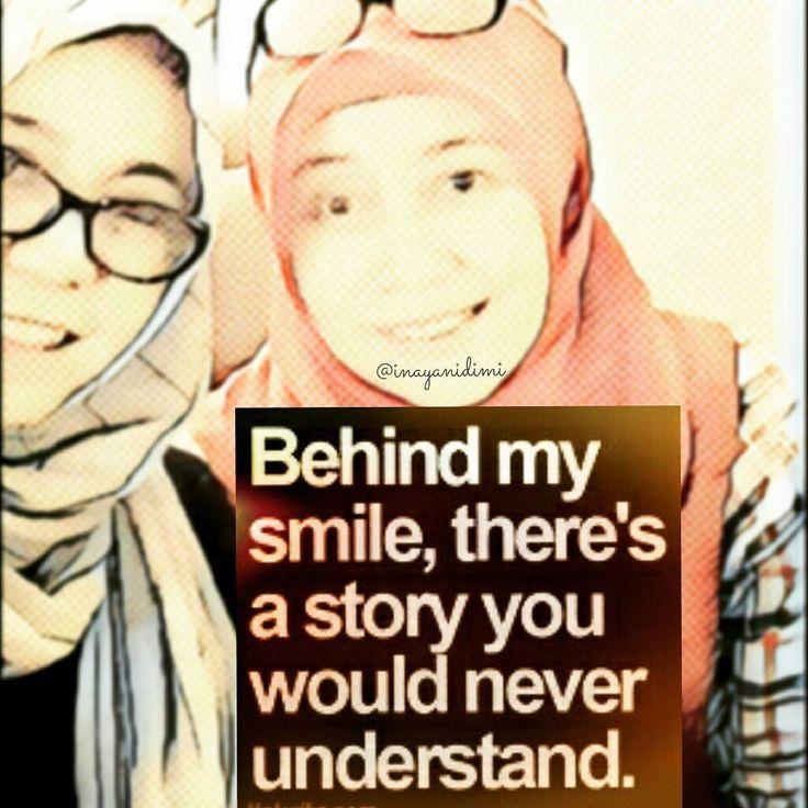Behind my smile ....😊