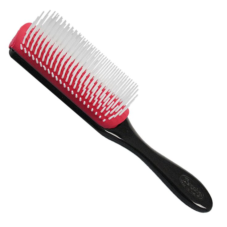 Denman Brush Review for Naturally Curly Hair - This brush has changed my curly-haired life! I highly recommend this for natural curly hair.