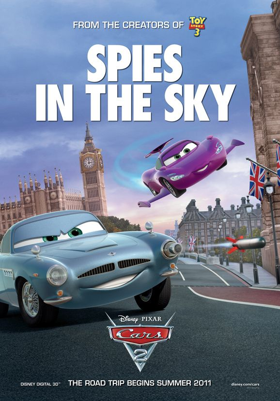 cars 2 international poster