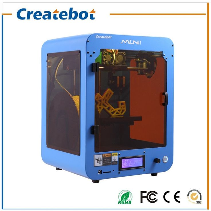 850.00$  Buy now - http://alibbn.worldwells.pw/go.php?t=32643213743 - Big Printing Size 150*150*220mm Hot Sale Very Popular Createbot Dual-Nozzle 3D Printer with LCD Screen and Heatbed 850.00$