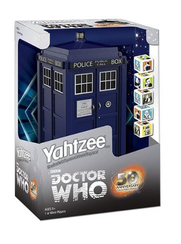 If you are a Whovian or are buying gifts for a Doctor Who fan then the Dr Who Yahtzee edition is something you will definitely want to take a look at. A great Dr Who Gift and a great game as well.