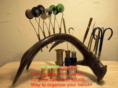 antler tool holder
