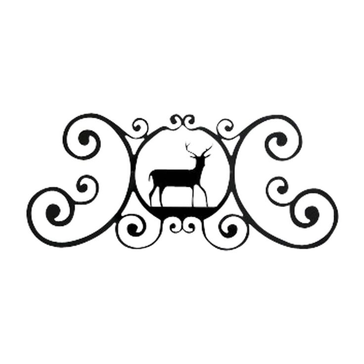 Deer - Over Door Plaque